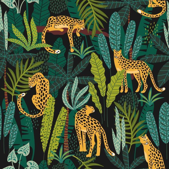 Duni Servetten 3-laags leopards