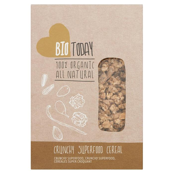 Crunchy superfood cereal (doos, 400g)