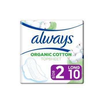 Always Cotton Protection Ultra Long (Maat 2) Maandverband Met Vleugels 10 Stuks