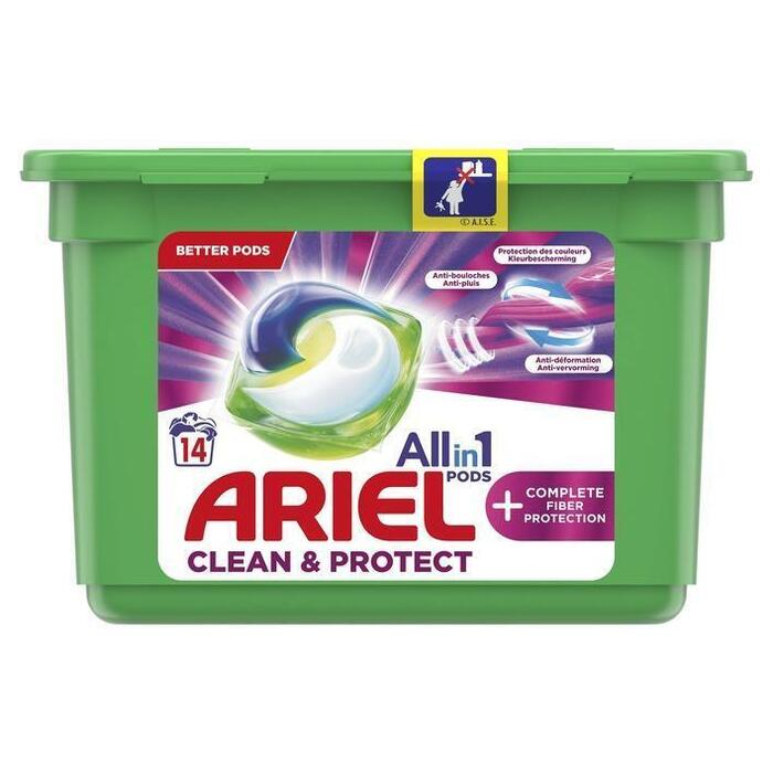 Ariel Allin1 pods+ clean & protect wascapsules