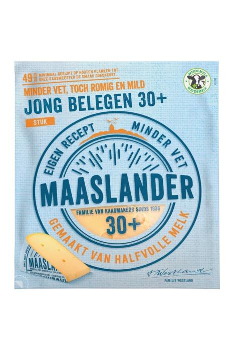 Maaslander Jong belegen stuk 30+ (400g)