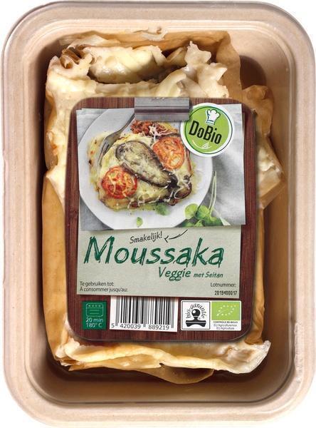 Griekse moussaka vegetarisch (400g)