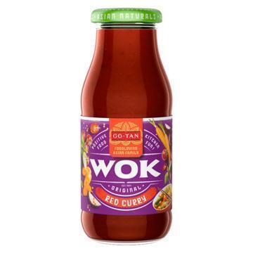 Go-Tan Original Wok All Natural Red Curry 240ml (240ml)