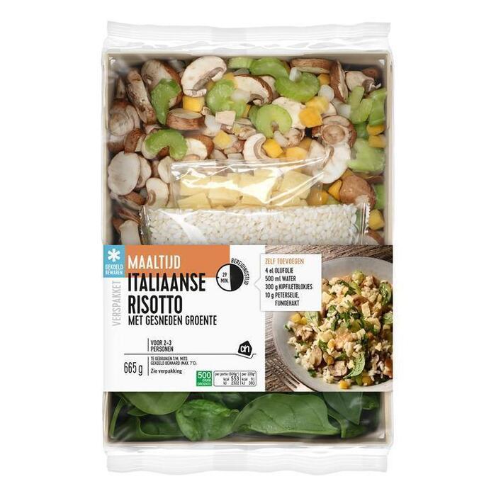 AH Gesneden verspakket Italiaanse risotto (665g)