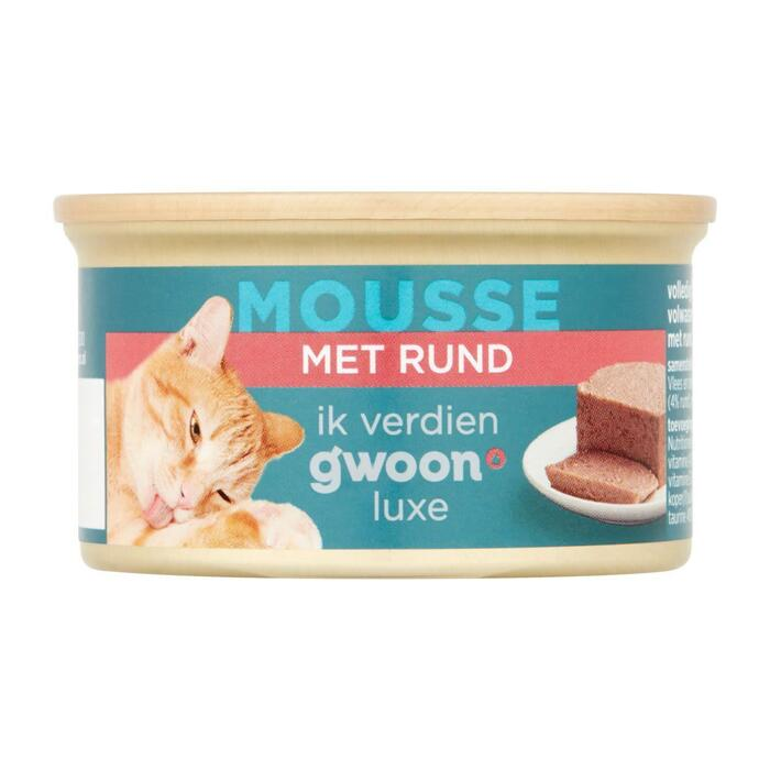 g'woon Kattenmousse rund (85g)