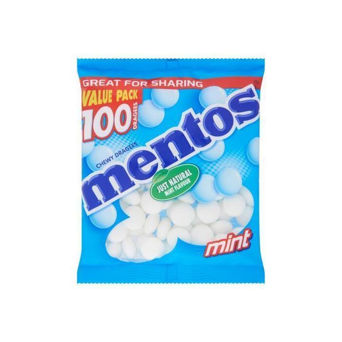 Mentos Mint bag voordeelverpakking (300g)