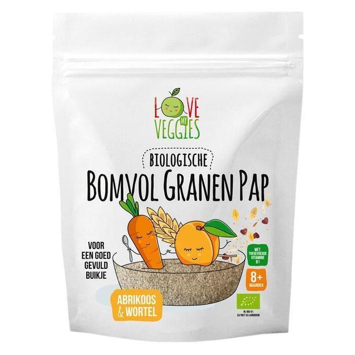 Love my veggies Bomvol granen pap 8m (200g)