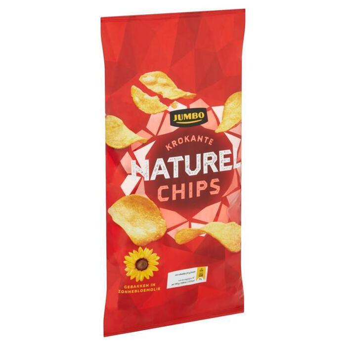 Jumbo Krokante Naturel Chips 225 g (225g)