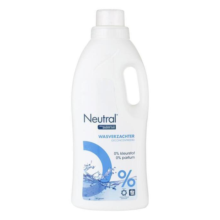 Wasverzachter Parfumvrij (Stuk, 0.75L)