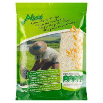 Alesie Geurende Parel Rijst 2 kg (2kg)
