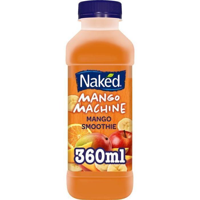 Naked Smoothie Mango Machine Apple, Mango & Orange Smoothie 360ml (36cl)