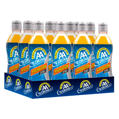 AA Drink Hydration Zero Sugar 500 ml (12 × 0.5L)