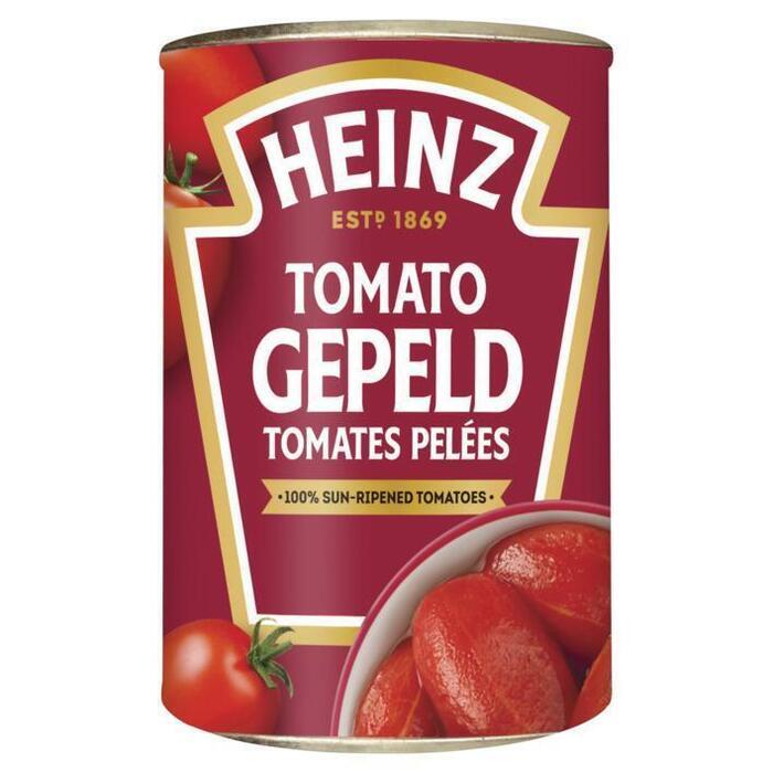 Tomato Gepeld Heinz (blik, 400g)