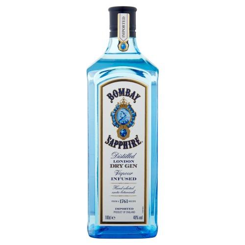 Bombay Sapphire Gin 1000 ml (1L)