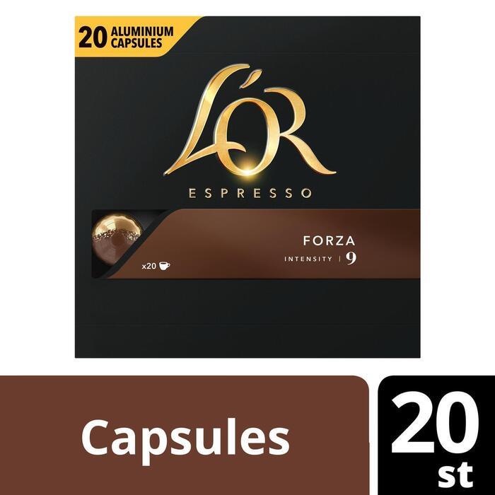 Espresso capsules forza (20 × 104g)