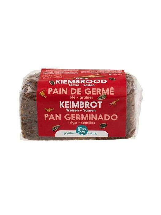 Gekiemd Brood lijnzaad-zonnebloempitten (zak, 400g)