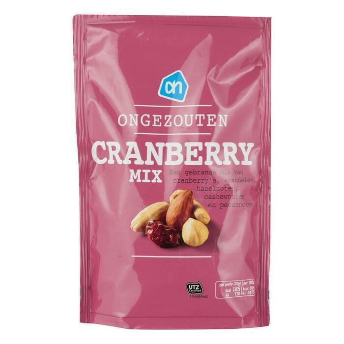 Frisse Cranberrymix Ongezouten (200g)