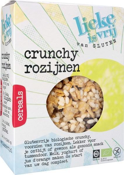 Crunchy rozijnen (doos, 375g)