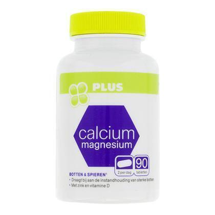 Calcium, magnesium, zink, vit. D tabl (90 st.)