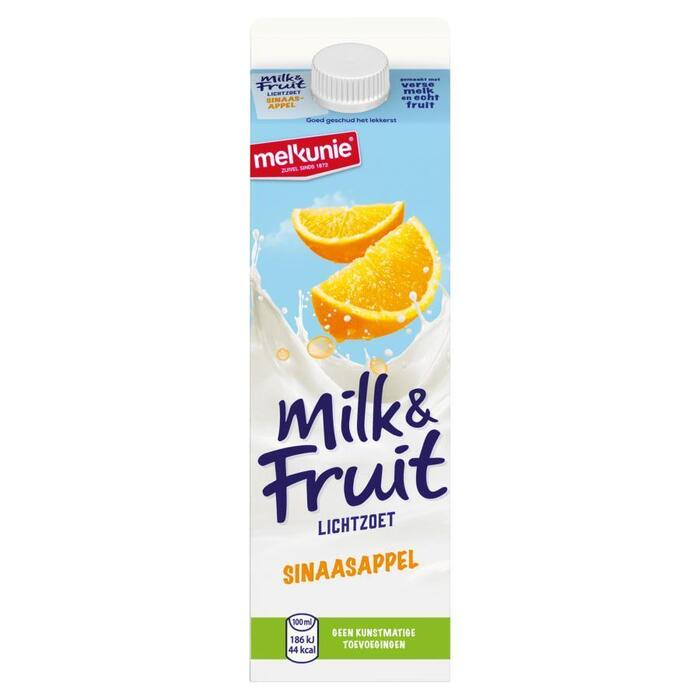 Milk & Fruit Sinaasappel (pak, 1L)