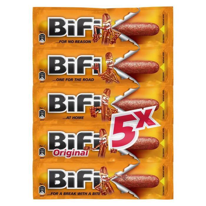 Bifi Original (Stuk, 5 × 125g)