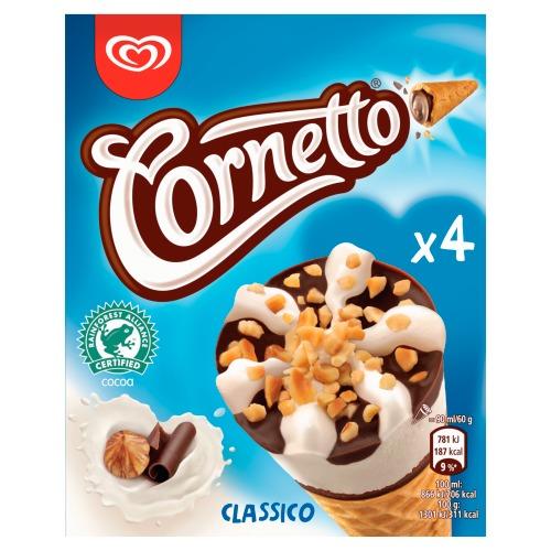 Cornetto Classico 4x90ML 6x (36cl)