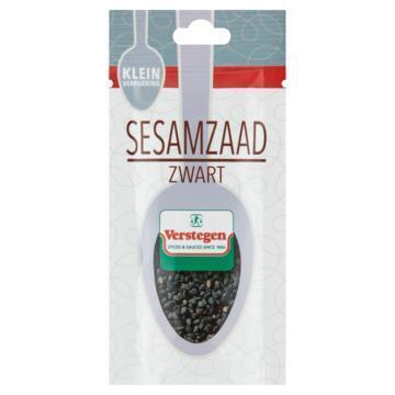 Verstegen Sesamzaad Zwart Kleinverpakking 9 g (9g)