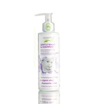 Baby gentle wash & shampoo (200ml)