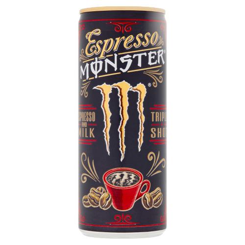 Monster Espresso and Milk Triple Shot 250 ml (250ml)