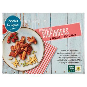 Passion for Meat Gemarineerde Ribfingers 250 g (250g)