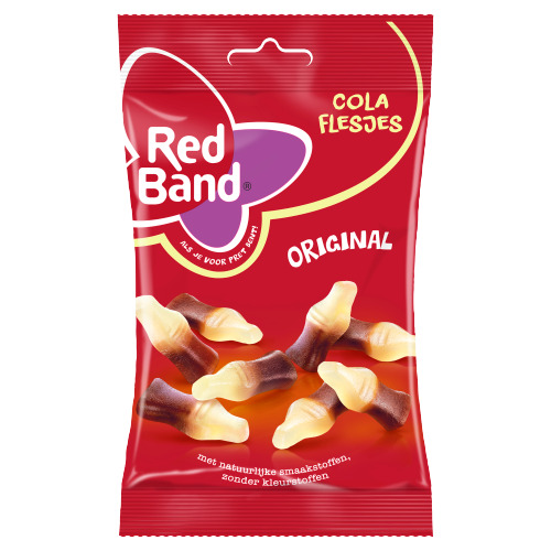 Red Band Kleintje cola (166g)