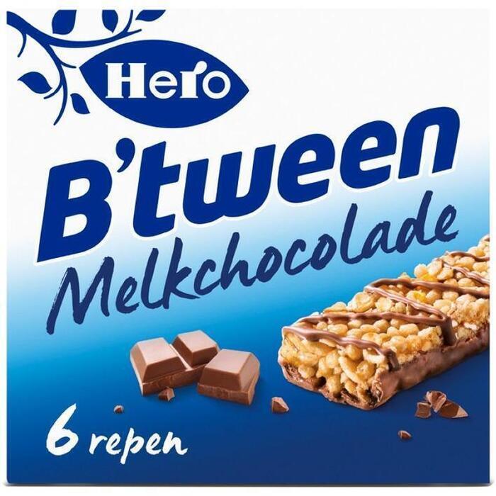B'tween, Melk Chocoladerepen (Stuk, 6 × 25g)