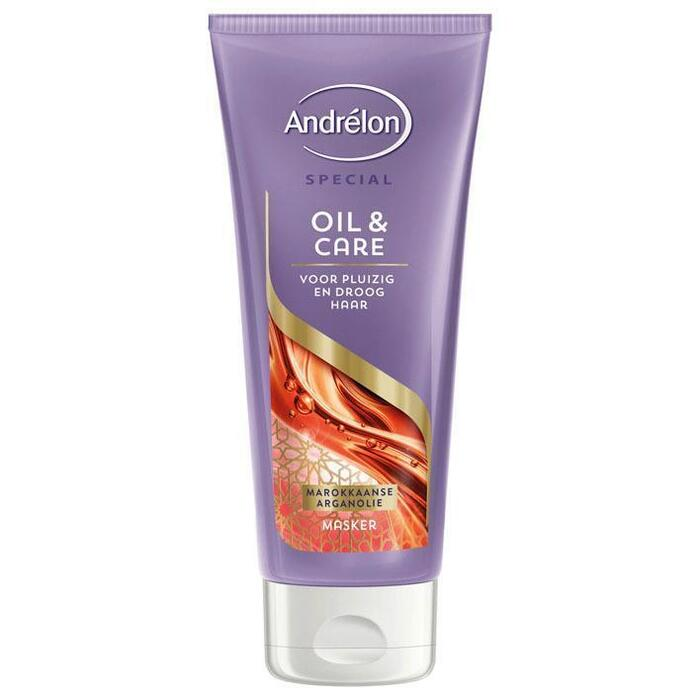 Andrélon 1-Minuut haarmasker oil & care (180ml)