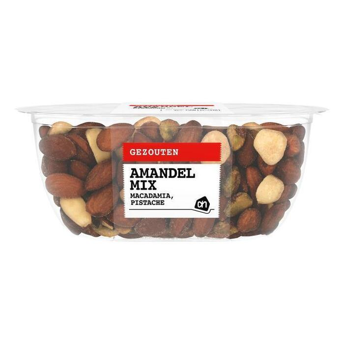 AH Mix macadamia pistache amandel gezouten (150g)