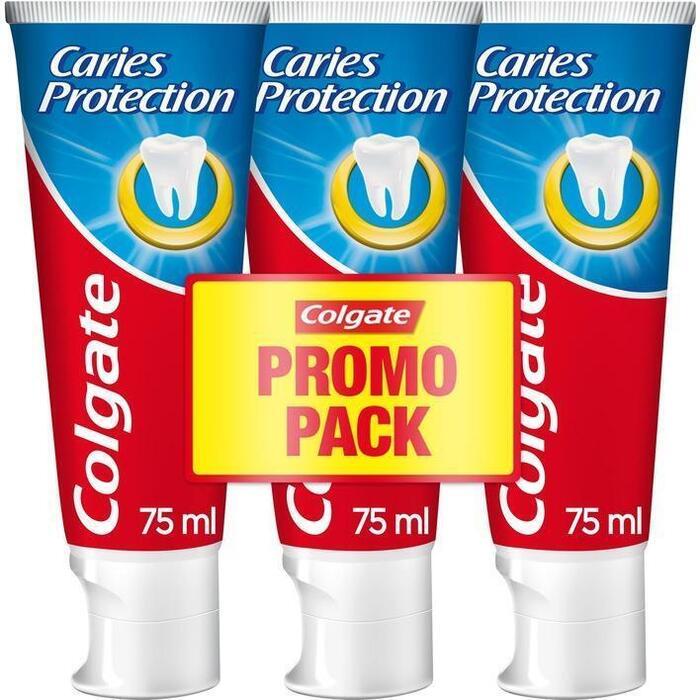 Colgate Caries protection tandpasta (3 × 75ml)