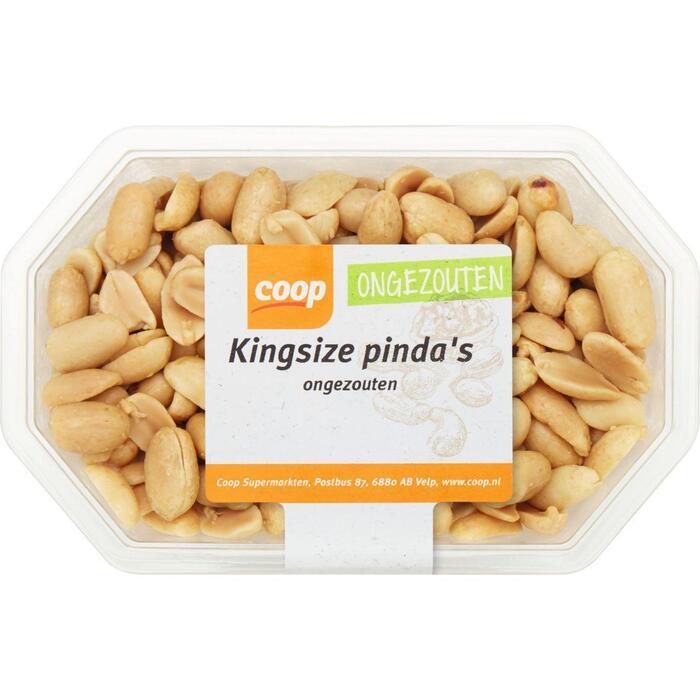 Kingsize pinda's ongezouten (275g)