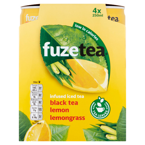 Fuze Tea Lemon lemongrass (rol, 1L)