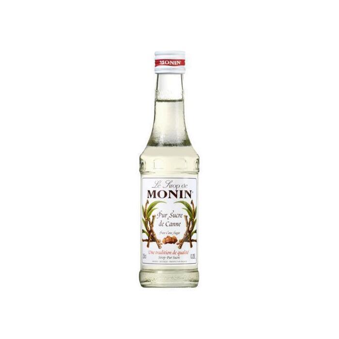 MONIN Le Sirop de Pure Rietsuiker Siroop 25 cl Fles (rol, 250ml)