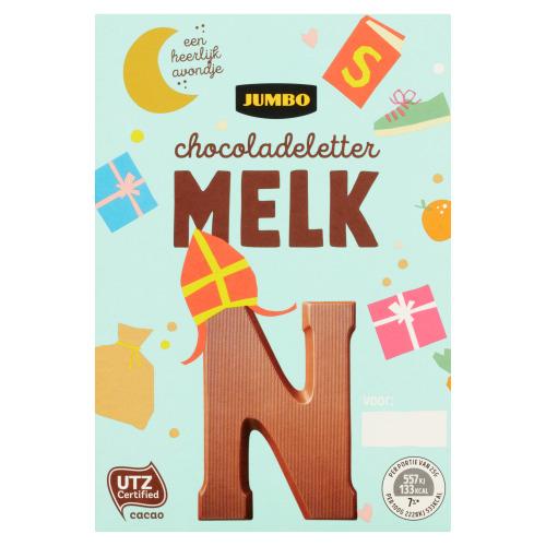 Jumbo Melkchocolade Letter N 65 g (65g)