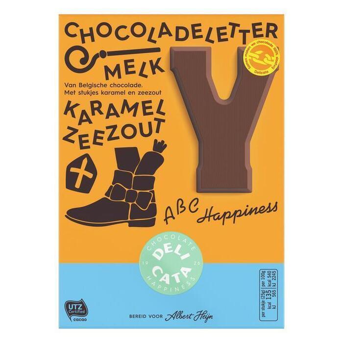 Delicata letter melk karamel zeezout (100g)