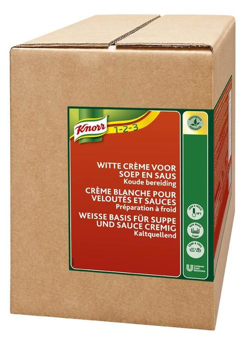 Knorr Koude Basis Witte Cremesaus 3Kg 2X (2 × 3kg)