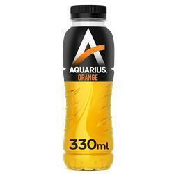Aquarius energy drink sinaasappel 24x33cl (rol)