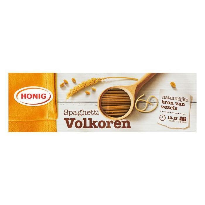 Honig Spaghetti Volkoren 550g (Stuk, 550g)