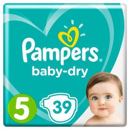 Luiers Pampers Baby Dry Maat 5  PAK