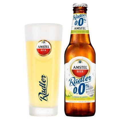 Amstel Radler dubbel citrus 0.0% (rol, 30 × 30cl)
