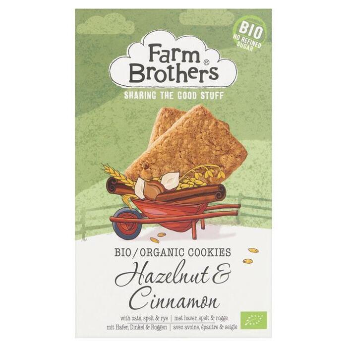 Hazelnoot & kaneel koekjes (150g)
