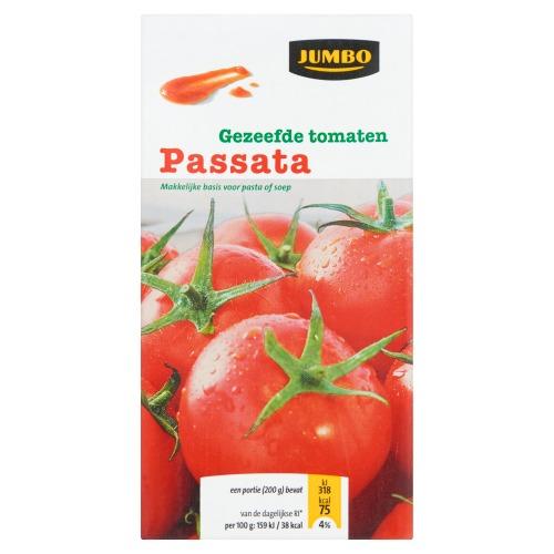 Jumbo Gezeefde Tomaten Passata 500g (500g)