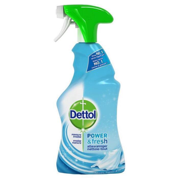 Dettol Power & Fresh Allesreiniger Spray Katoenfris 500 ml (0.5L)