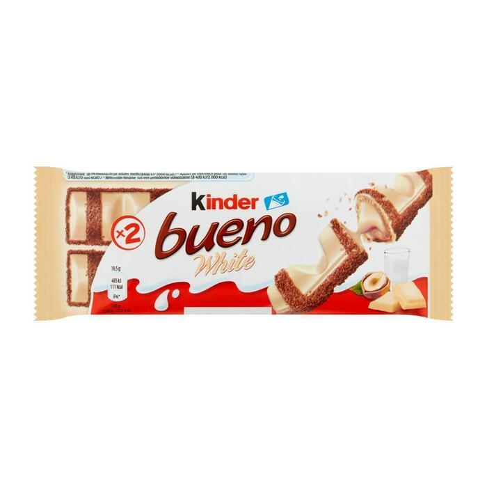 Kinder bueno white (stuk, 43g)