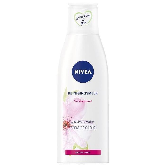 Verz. reinigingsmelk droge/gev. huid (Stuk, 200ml)
